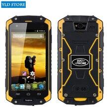 Оригинальный водонепроницаемый смартфон Guophone V9 IP68, прошивка MTK6572 Android 4,4 4,5 «ips 512 МБ + 4 ГБ WCDMA мобильный телефон 3G