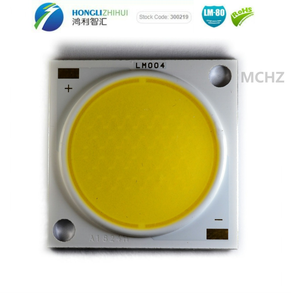 1 pcs 80 30 W 48 V 700MA RA CRI COB Alta potência da lâmpada grânulos de piezas brillante led watts lente blanco perlas