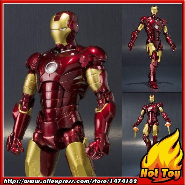 "Здесь продается  Original BANDAI Tamashii Nations S.H.Figuarts (SHF) Action Figure - Iron Man Mark 3 from ""Iron Man  Игрушки и Хобби"