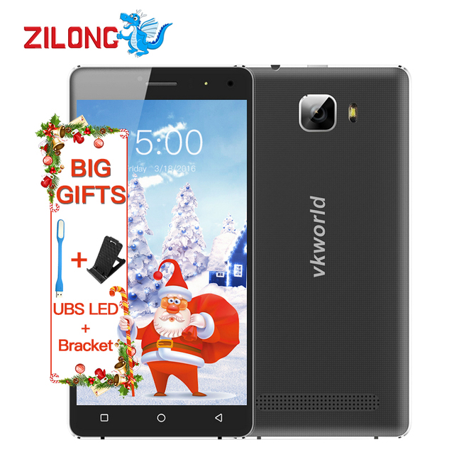"""In Stock,2016 Newest Original Vkworld T3 Mobile Phone MTK6735 Quad Core Android 5.1 2GB RAM 16GB ROM 4G LTE 5"""" HD 8MP Smartphone"""