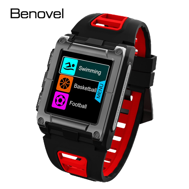 Benovel S29 GPS Smart Watch IP68 Waterproof Sport Swimming Smartwatch Fitness Tracker Monitor Thermometer Altimeter climbing