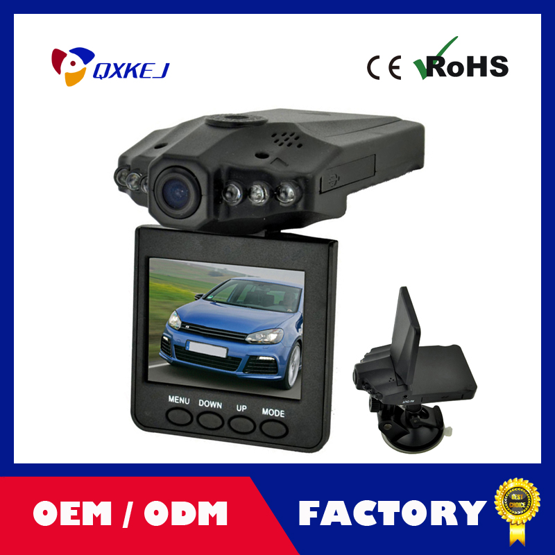 120 Degree Wide View Angle Night Vision Vehicle Car Detector camera Recorder HD DVR