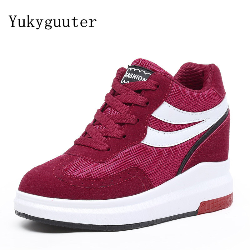 Women Skateboarding Shoes Sport 2018 Autumn Increased Internal Sneakers Outdoor Athletic Breathable Comfortable Shoes WomanWomen Skateboarding Shoes Sport 2018 Autumn Increased Internal Sneakers Outdoor Athletic Breathable Comfortable Shoes Woman