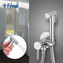 FRAP bide musluklar duş bide mikser tuvalet pirinç banyo püskürtücü tuvalet yıkama mikser müslüman duş ducha higienica tuvalet musluk