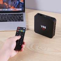 V88 Android 7.1 Smart TV Box RK3229 Quad Core 1GB+8GB WIFI Media Player US