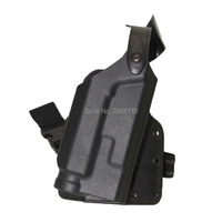 Tactical Colt 1911 Light Bearing Thigh Holster with Platform Adapter for Colt 1911