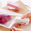 New Random Creative Food Mini Portable Heat Sealing Machine Sealer Machine Perfessional Accessories