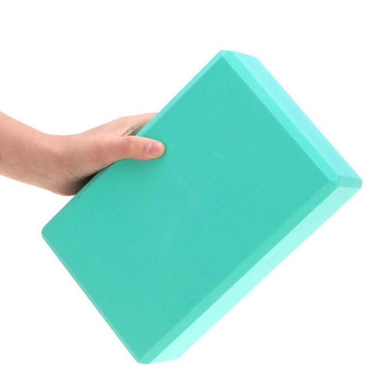 Dropshopping Yoga Block Yoga Props For Brick Stretching Aid Gym Pilates Outdoor Exercise Fitness Sport Yoga Block Foam For Yoga 2pcs yoga eva foam roller block pilates massageroller brick yoga stretch belt strap fitness tool for body exercise gym fitness