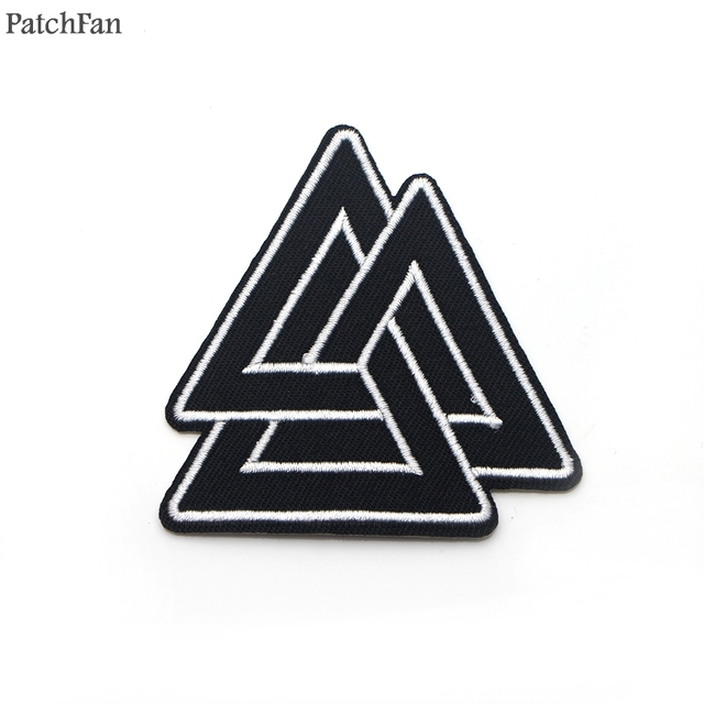 Patchfan Vikings Symbols Applique Patches Stickers Diy Sewing Jersey