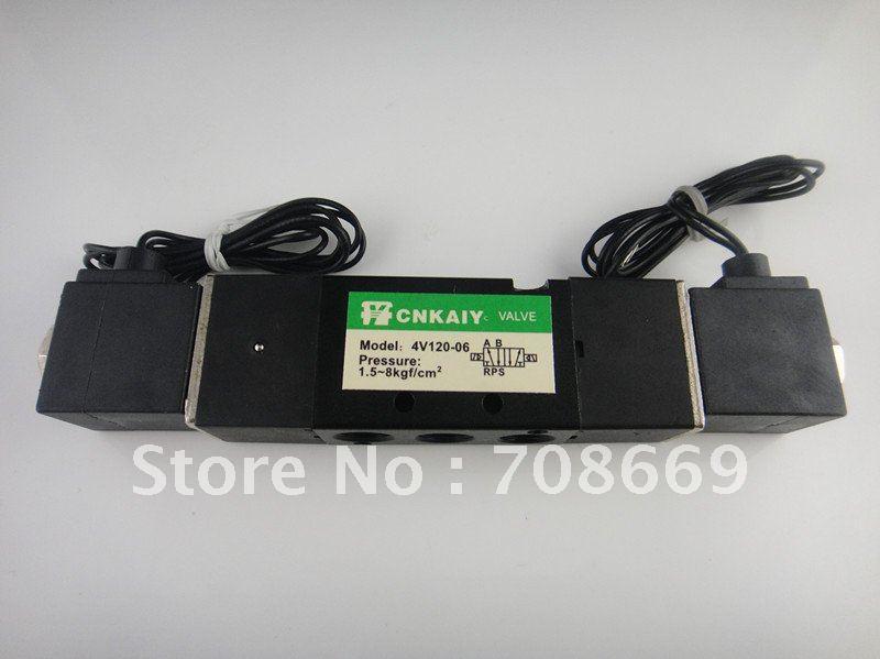 Solenoid Air Valve 5port 2position AC 220V BSP 4V120-06