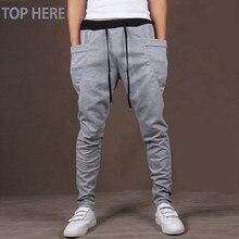 2018 New Men Harem Pants Hot Sale Outwear Sweatpants Men Casual Jogger