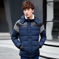 2017 Men Winter Down Jacket Coats Short Thick Overcoats Men's Clothing Cotton Dress Winter Jackets Nordic Style Design 782