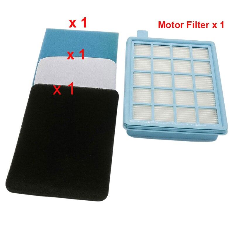 Новый фильтр двигателя и впускные и выхлопные вспененные фильтры для Philips PowerPro FC8470/81 FC8472/81 FC8473/81 FC9523/19 motor filter philips filterwashable filter   АлиЭкспресс