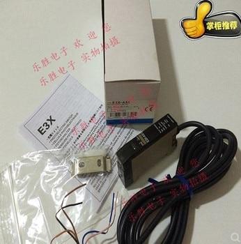 цена на FREE SHIPPING E3X-A51 Fiber amplifier sensor