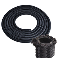 Replace Oil Hose Replacement Accessory Nylon Fuel Hose Line High Pressure Black Cooling Hose 3meters Useful New
