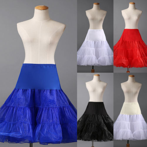 Tutu Skirt Silps swing Rockabilly Petticoat Underskirt Crinoline fluffy pettiskirt for font b Wedding b font