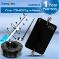 Sanqino GSM 1900MHz Cellular Repeater FDD 4G LTE Band UMTS Cell Phone Signal 3G Amplifier Yagi Antenna