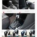 Caso de la Cubierta de pegatinas para VW polo Volkswagen CC polo Golf 7 6 B7 B6 Passat B5 Jetta Bora Tiguan engranaje palanca de cambios cabezal de engranajes etiqueta