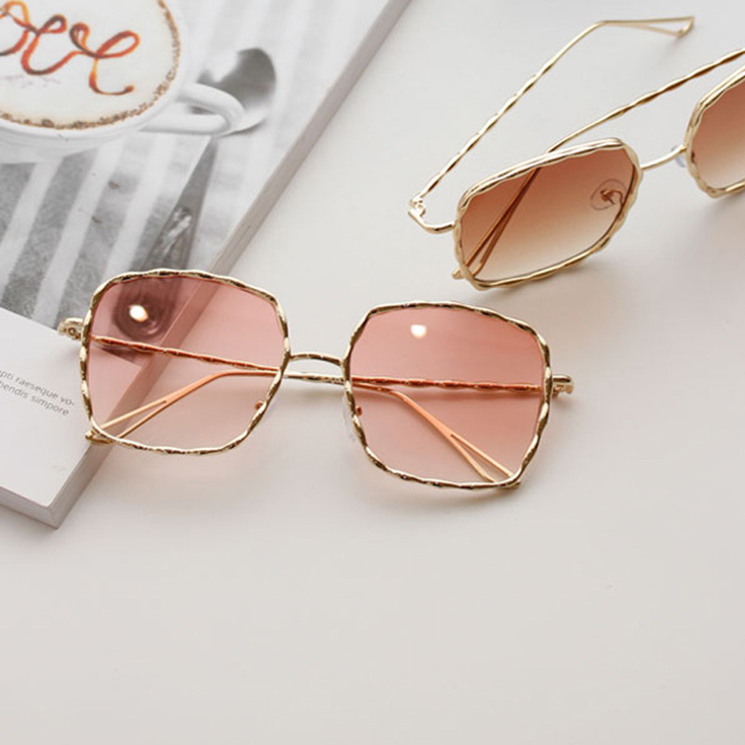 Fashion 2018 Brand Oversized Frame Square Sun Glasses For ...