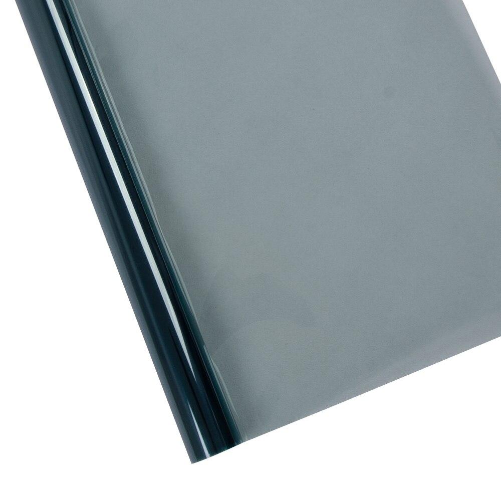 Teinte de fenêtre de voiture SUNICE 70% VLT bleu clair ombre de soleil en vinyle pare-brise avant de voiture ombre soleil blocage Film de teinte solaire 0.8x2 m/32