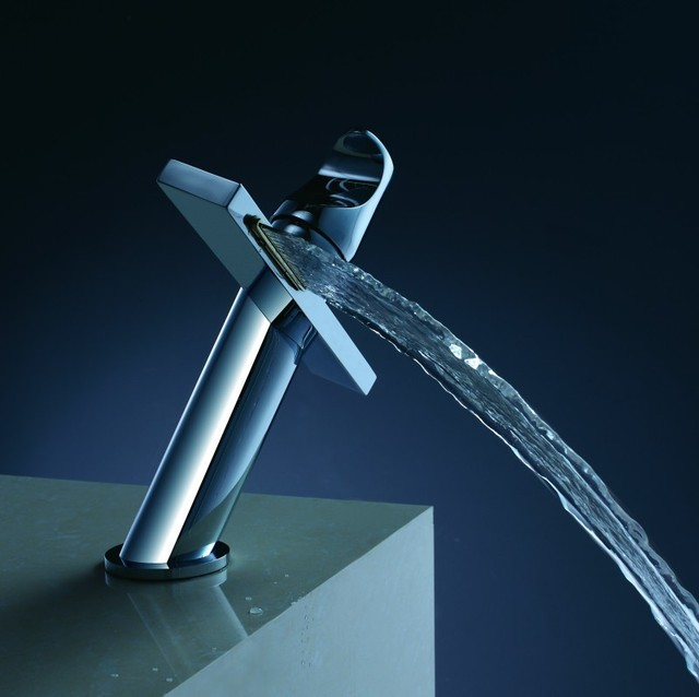 Bathroom Faucet One Hole aliexpress : buy becola chrome waterfall faucet personality