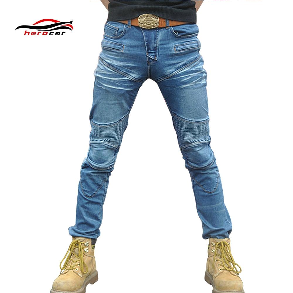 2019 nouveau Pantalon de Moto hommes Moto Jeans équipement de protection équitation Touring Moto Pantalon Motocross Pantalon Moto