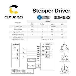 Image 5 - محرك محرك متدرج 3 مراحل 3DM683 Cloudray Leadshine 20 60VDC 0.5 8.3A