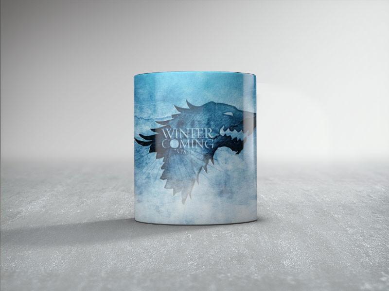 game of thrones coffee mug house stark ceramic Tea travel porcelain home decal mugen
