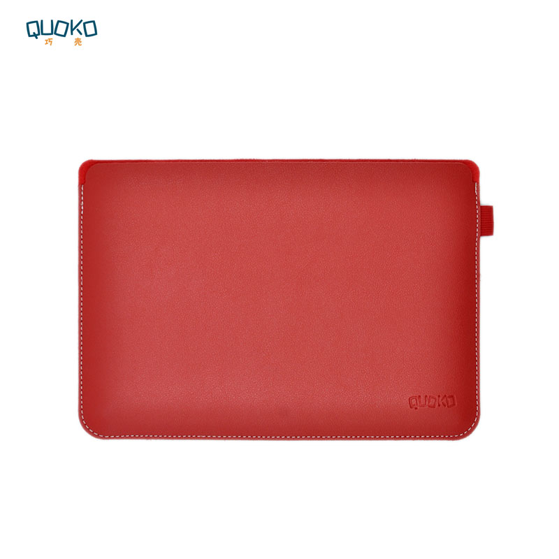 Simplicity And Ultra-thin Super Slim Laptop Bag Case Sleeve For Dell XPS 13 15(9350 9360 9370 9550 9560 9570) ,Transverse Style