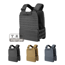 Tactical Adjustable MOLLE Vest Adjutable Plate Carrier Modular Quick Release Airsoft Vest