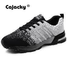 Cajacky High Quality Men Shoes Plus Size 47 Men Casual Shoes 2018 Autumn Winter Sneakers Lightweight Breathable Male Trainers 46