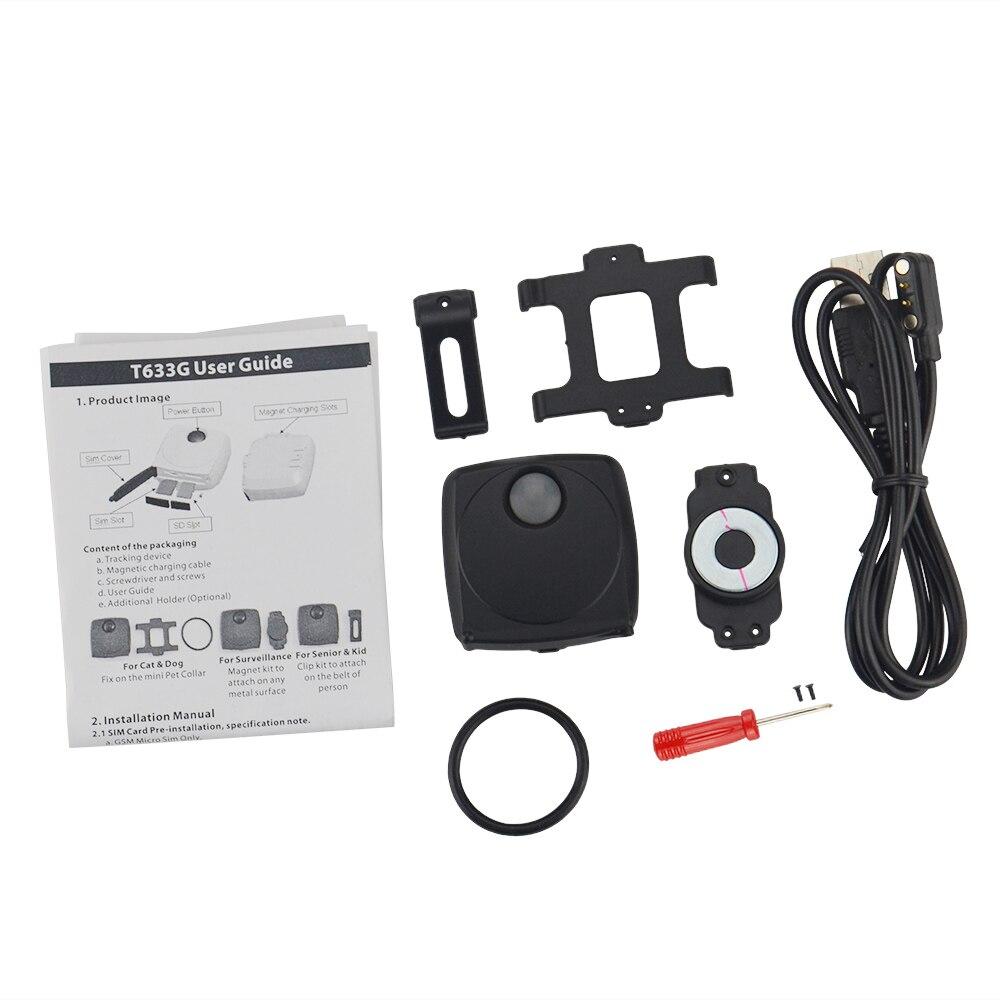 Mini Children 3G GPS Tracker T633G Data Logger 7Days