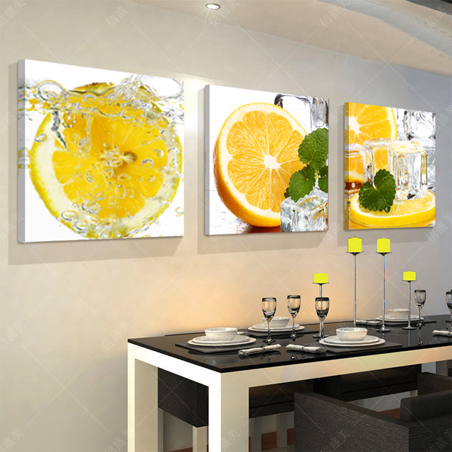 Splendidi Dipinti A Olio Moderna Frutta Cucina Quadri Su Tela ...