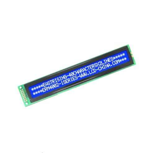 40x2 4002 Character LCD Display Equivalent with HD44780 White on Blue Color