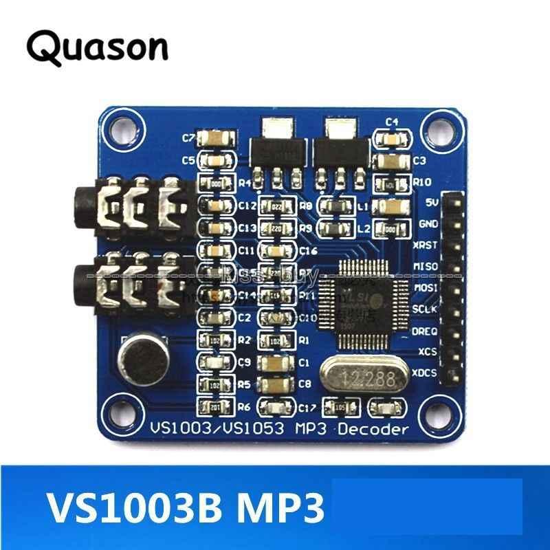 VS1003 MP3 Módulo de decodificación MP3 MP3 + V WMA WAV MIDI Placa de desarrollo de micrófono