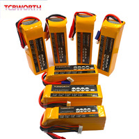 6S RC Airplane LiPo Battery 22.2V 1200 2200 2600 3000 3500 4000 5000mAh 25C 35C 60C For RC Aircraft Quadrotor Car Drone LiPo 6S