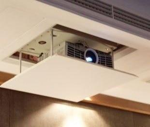 1.5meter Lift Motorized Electric Lift Scissors Ceiling Projector Mount  Bracket Elevator Projector Remote Control 220v