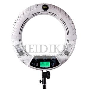 Image 2 - Yidoblo FC 480 ضبط الأزياء RGB LED مصباح مصمم على شكل حلقة 480 LED فيديو ماكياج مصباح التصوير استوديو البث ضوء + 2 M الوقوف + حقيبة