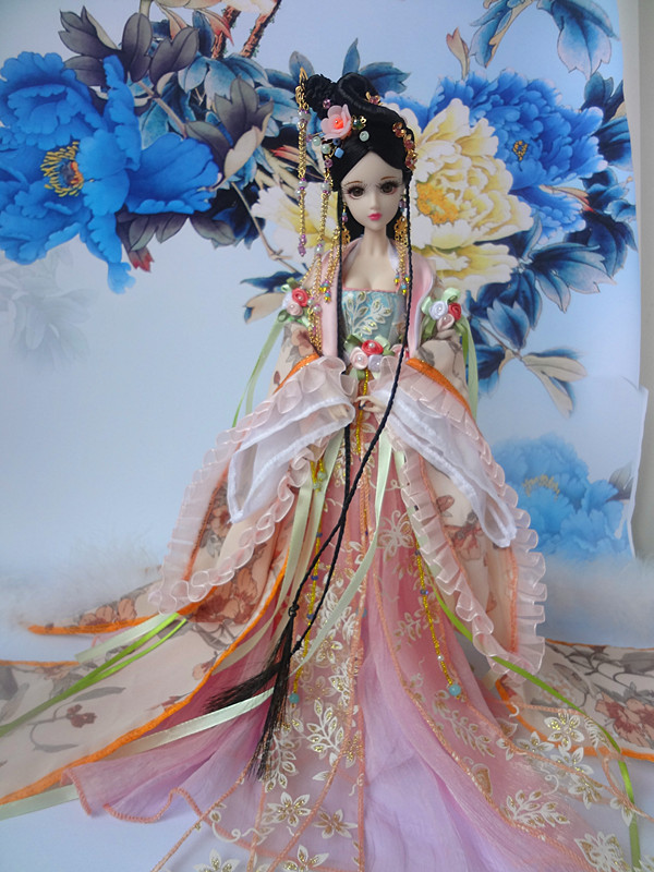 32CM Collectible Chinese Princess Dolls Traditional Oriental BJD Girl Doll With 12 Joints Movable Xi Shi Series Birthday Gifts cotton kids boys pants trousers 2 to 14 y children boys jeans pants kids denim pants spring autumn casual elastic waist pants