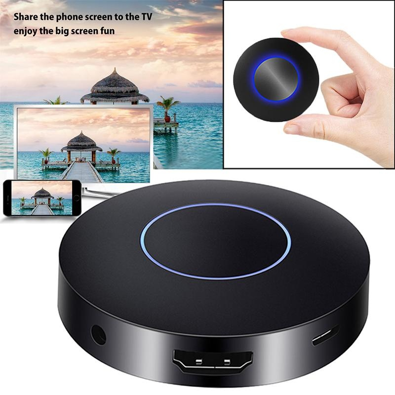 JAKCOM Mini Chromecast Miracast Ultra 1080P WiFi Display TV Dongle Wireless Receiver HDMI DLNA AirPlay for Smartphone Tablet PC woo mt001 dlna airplay wifi display miracast tv dongle
