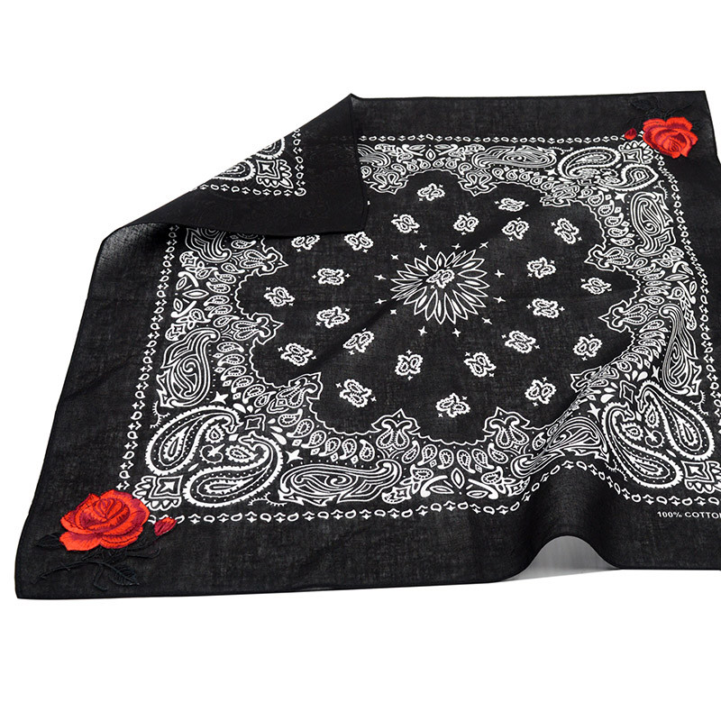 Paisley Rose Bandana Scarf | Neck Scarves | Up to 60% Off Now