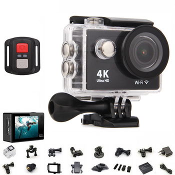 Original H9 / H9R action camera 4K wifi Ultra HD 1080p 60fps 170D Go waterproof mini cam pro sports camera gopro hero 4 style