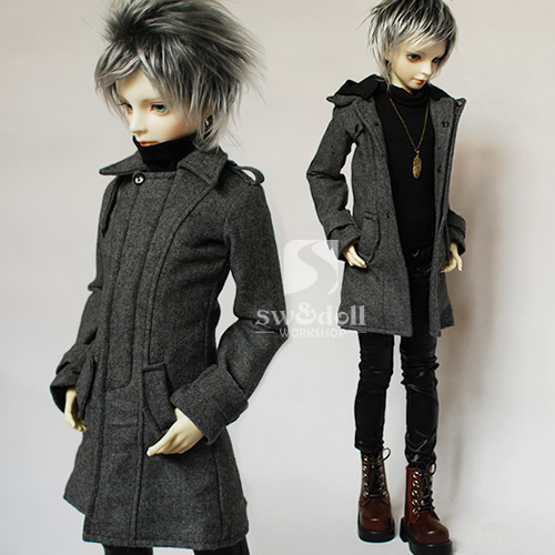 1/3 1/4 scale BJD Coat for doll BJD/SD Accessories doll clothes only sell Coat.not include doll and other,A15A1931