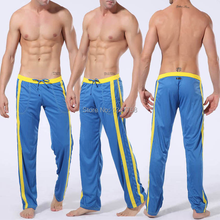 Men Low-rise  Sweat Pants  Slim Fit Lounge Trousers Casual Pant