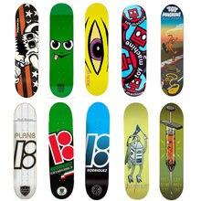 USA Brand Pro Skateboard Deck 8 8.125 8.25 inch Canadian Maple Wood Double Rocker Skate Board Decks Patins Street
