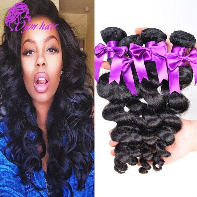 10a Grade Malaysian Loose Wave 4pcs Lot Cheap Human Hair 100g