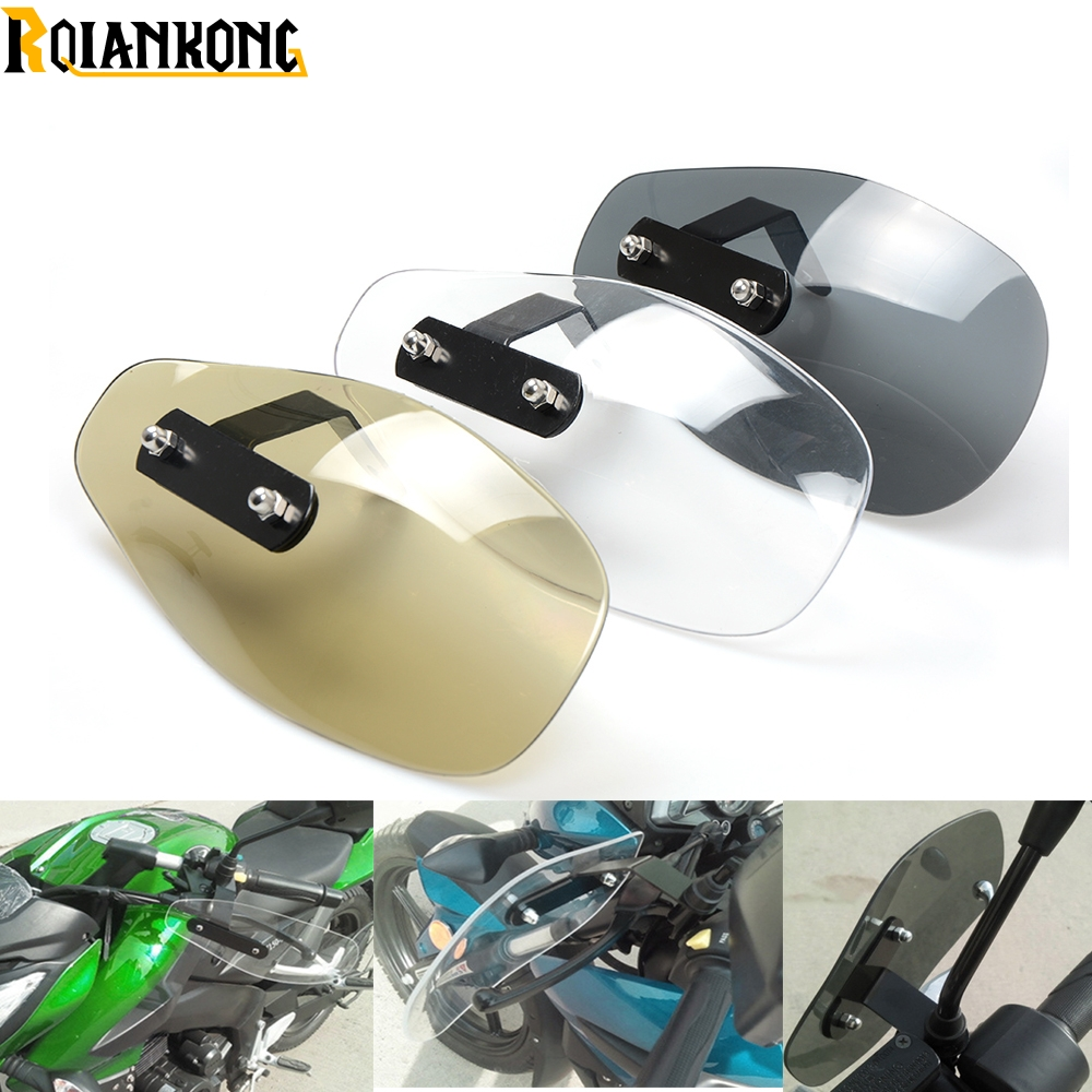 Motorcycle Accessories wind shield handle Brake lever hand guard for Yamaha T-Max 500 T-Max 530/ABS Tracer 900 ABS V-MAX motorcycle wind shield brake lever hand guard for benelli bj600gs bn600i bj300gs bn300 bn600 bj600 with hollow handle bar