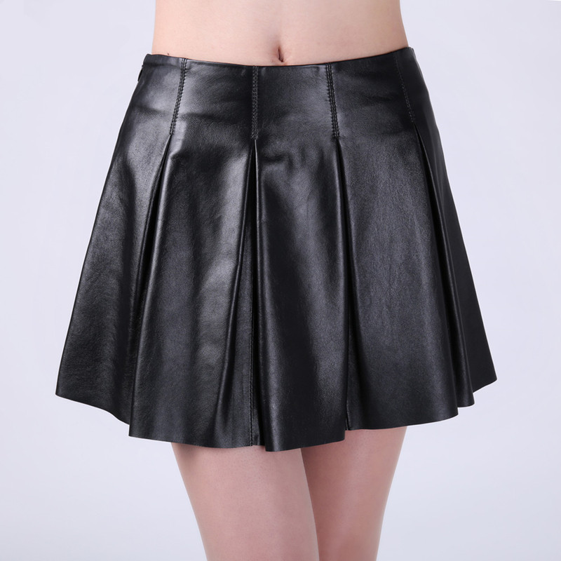 Online Get Cheap Flared Leather Skirt -Aliexpress.com | Alibaba Group