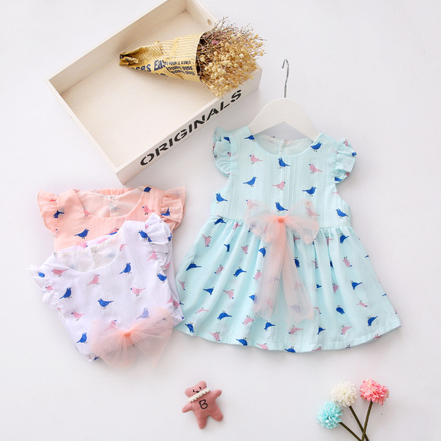 844162ea8 New Baby Dresses Designs Cute Western Wear Baby Cotton Frocks First  Birthday Party Dress For 1