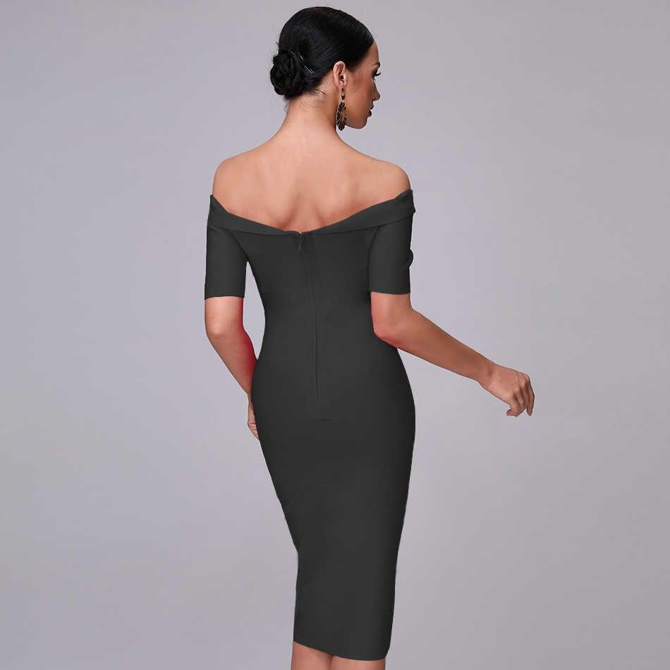 2019 женские летние платья из телячьей кожи со средней талией, фиолетовые Вечерние платья с открытыми плечами и коротким рукавом